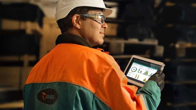 Sistema de monitoramento permite tomada de decisões em tempo real (foto: Metso)