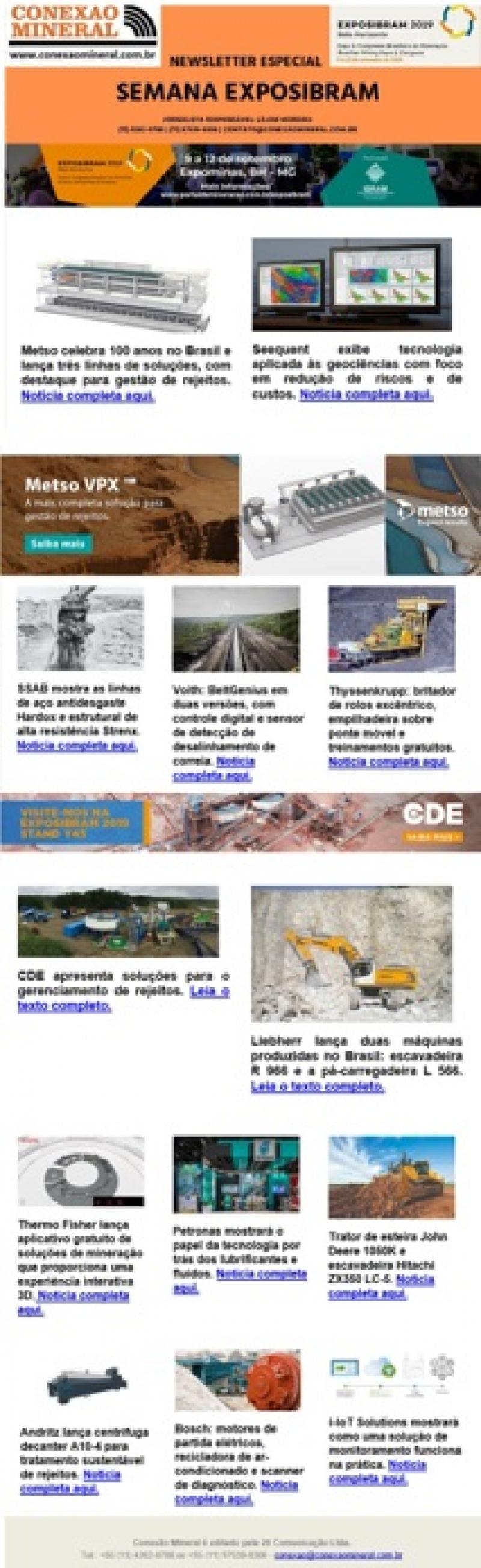 Newsletter Exposibram 2019 - N.1 - 06-06-2019