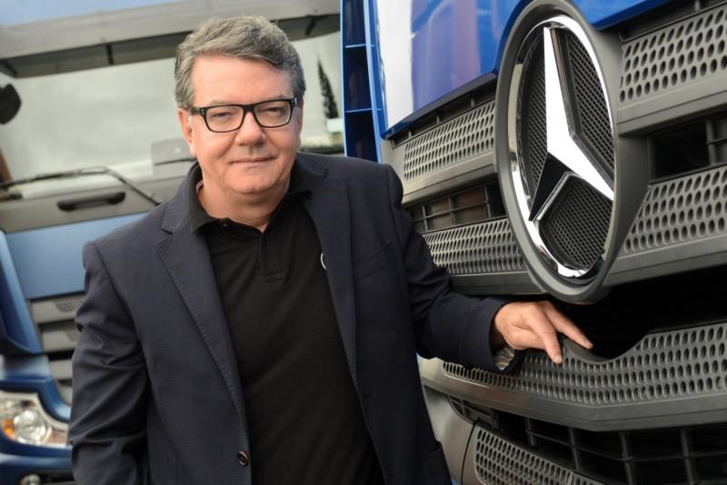 Roberto Leoncini, vice-presidente de Vendas e Marketing Caminhões e Ônibus da Mercedes-Benz  (Foto: Mercedes-Benz)