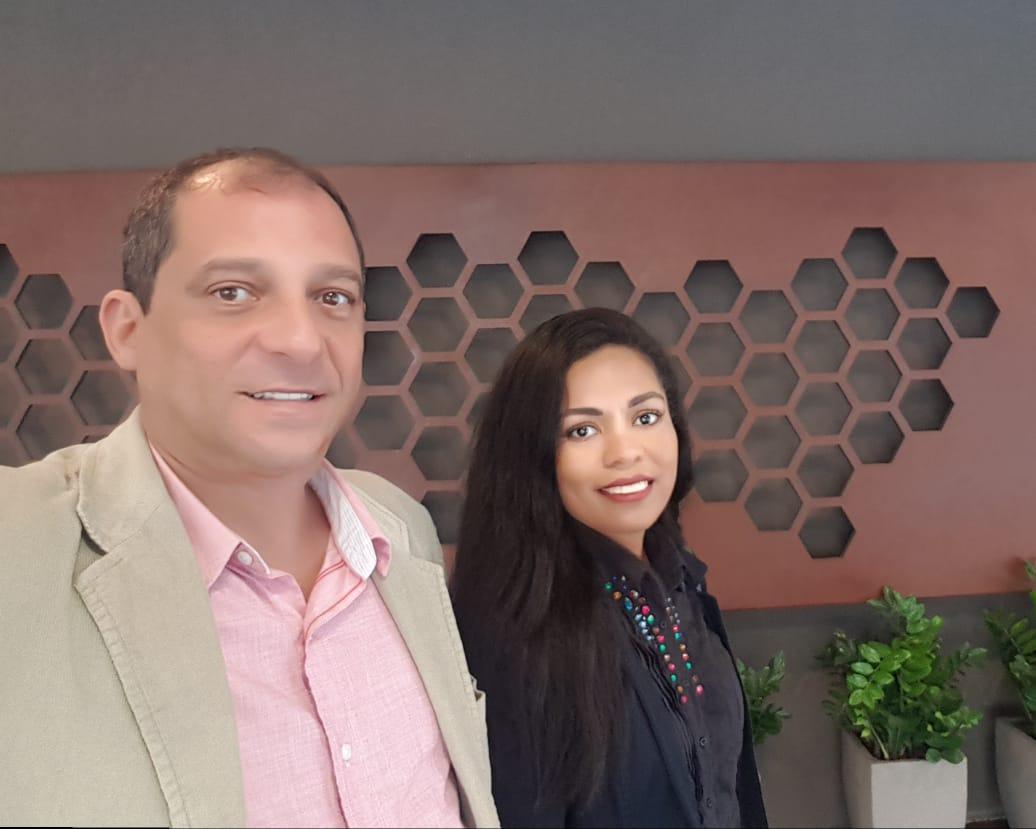 Sandro Santos e Janaina Marques, diretores da Mineradora Tabuleiro (foto: Mineradora Tabuleiro)