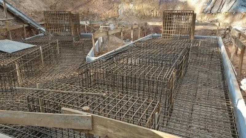 Obras de melhorias no sistema de ventilação da mina Pilar  (foto: Jaguar Mining)