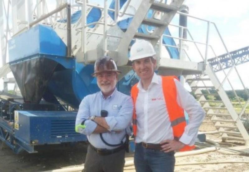 Projeto da CDE na mineradora AuVert, localizada na Colômbia (foto: CDE)